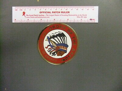 Boy Scout Early Order of the Arrow Decal Sticker Cat No 5064 Chicago Decal Co
