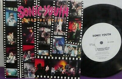 SONIC YOUTH Burning Spear WL PROMO 45 Big Day Out 85 Live AUSTRALIA ONLY EP