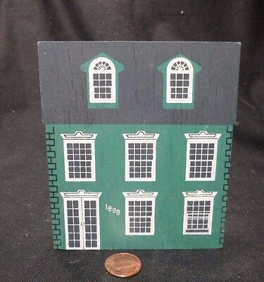 EASTON Maryland Town House FOLK ART Vintage Wood House Model architecture