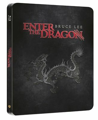 Enter the Dragon Zaavi Blu-ray Steelbook-- Brand New and Region Free!