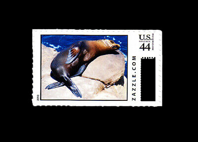 2010 Zazzle.Com .44c Custom CVP U.S. Postage - CALIFORNIA SEA LION - MNH Single