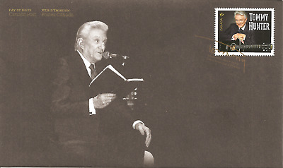 FDC CANADA Tommy Hunter STAMP First Day Cover OFDC London ON 31st July 2014