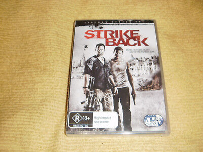 STRIKE BACK 1 Complete First Season One = 4 DVD NEW & SEALED TV Show Series R4