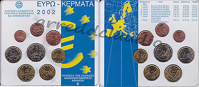 Grecia Greece Serie Set 2002 Fdc