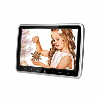 10.1'' HD Car Headrest DVD CD Player Game Touch Monitor HDMI SD USB with Remote