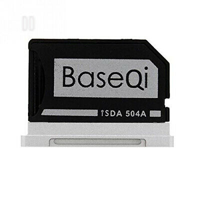 "BASEQI aluminum microSD Adapter for MacBook Pro 15"" Retina (Late 2013 onwards)"