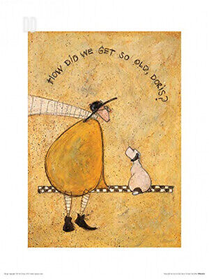 Art Group The How Did We Get So Old, Doris Sam Toft Print, Paper...