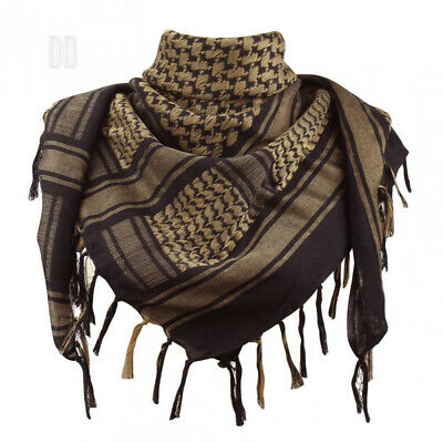 Explore Land 100 Cotton Military Shemagh Tactical Desert Keffiyeh Scarf...