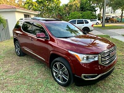 2017 GMC Acadia DENALI-EDITION(ALL OPTIONS) DENALI PACKAGE, REAR ENTIERTMENT SYSTEM DVD