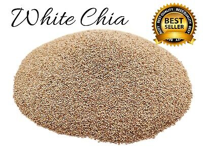 White Chia Seeds, Organic, Superfood, Dessert, Detox, Weight Loss, Healthy Food