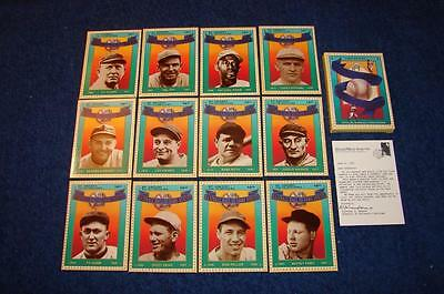 1992 Baseball Hof Hall Of Fame Heroes St. Vincents Stamp Cards Set Of 12 (Kc03)