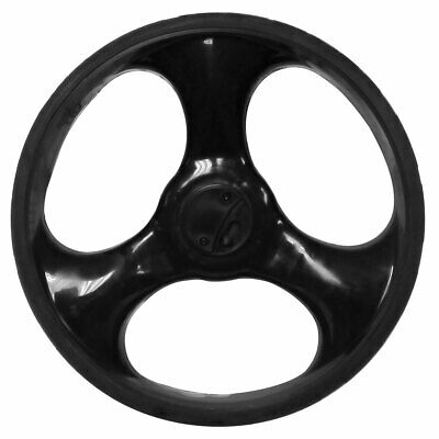Charles Bentley Golf Trolley Spare Replacement Left Wheel in Black