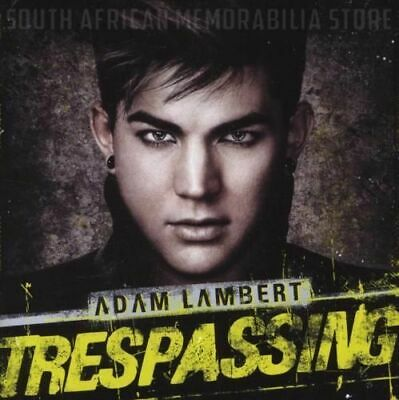 ADAM LAMBERT - Trespassing - South African Deluxe Edition CD CDRCA7347 *NEW*