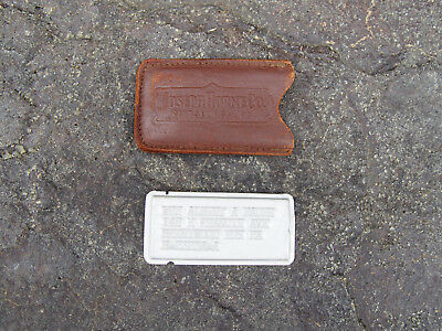 Vintage Joseph Horne Pittsburgh PA Charga-Plate Credit Card w/ Original Sleeve