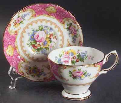 Royal Albert LADY CARLYLE Malvern Cup & Saucer 5936872