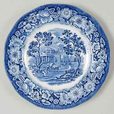 Staffordshire LIBERTY BLUE Bread & Butter Plate 693845