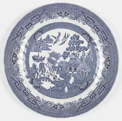 Royal Wessex China BLUE WILLOW (SWIRLED) Dinner Plate 952494