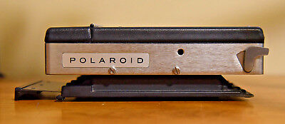 POLAROID USA Vintage Land Camera Back Series 100 Film Pack Adapter Great Shape!