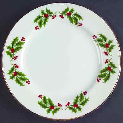 All The Trimmings CHRISTMAS HOLLY (PORCELAIN) Bread & Butter Plate 3861991
