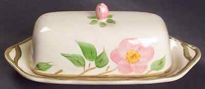 Franciscan DESERT ROSE 1/4 Lb Covered Butter Dish 136381