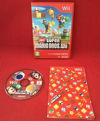 New Super Mario Bros. Wii - Nintendo Wii - PAL - TESTED