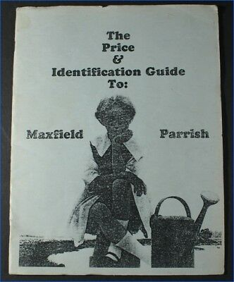 1992 Maxfield Parrish Price & Identification Guide Booklet, Jackson