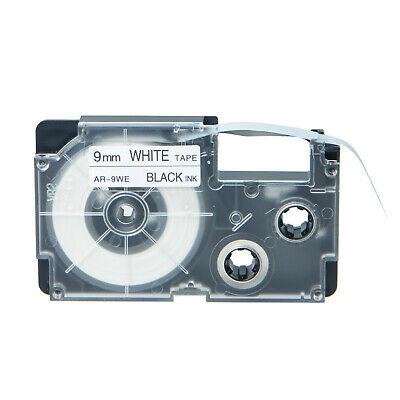 20PK Compatible Casio XR-9WE Black on White Label Tape for EZ Printer KL-7200
