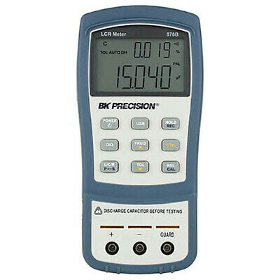 BK Precision 878B Dual-Display Handheld LCR Meter, 40,000 Count
