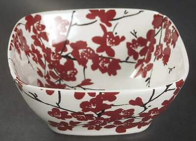 222 Fifth MIA BLOSSOMS-RED Soup Cereal Bowl 7300311