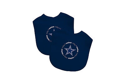 2c2d043f8 Dallas Cowboys Baby Bib, 2 Pack Bibs Officially Licensed NFL Infant