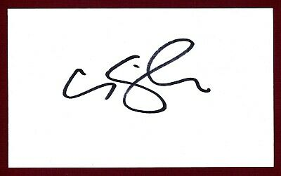 Canaan Smith country music singer-songwriter Signed 3x5 Index Card C15343