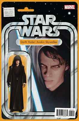 Star Wars Darth Vader 1 John Tyler Christopher Anakin Action Figure Variant Nm