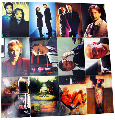 1995 X-files 1st Series Complete Set 72 Topps Collectors Cards Collectibles