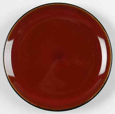 Gibson Designs ANTICA ROMA-RED Salad Plate 7681278