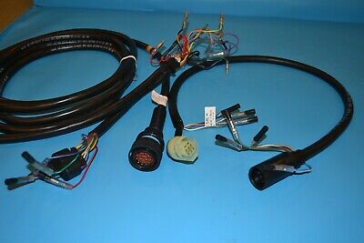 mercury outboard wiring harness 14 pin 84-896536a01 - 84-892473a01 8 pin  adaptor