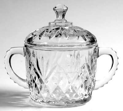 Anchor Hocking PRESCUT CLEAR Sugar Bowl 7470393