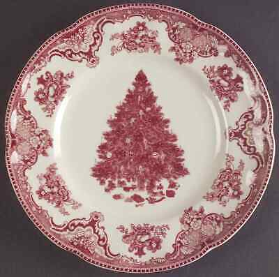 Johnson Bros OLD BRITAIN CASTLES PINK CHRISTMAS Salad Plate (Imperfect) 8599512