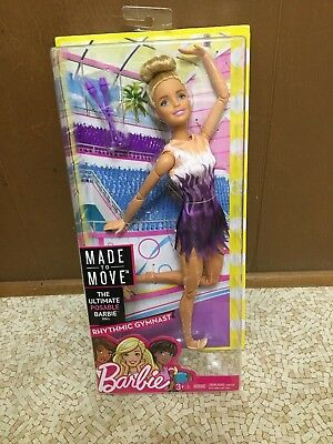Barbie Made to Move Ultimate Posable Articulated Jointed Rhythmic Gymnast Doll