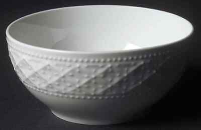 Gibson Designs ROYAL QUILT-WHITE Soup Cereal Bowl 4727516