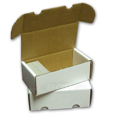 BCW 400-Count Storage Box for Trading Cards | 200 lb. Test Strength
