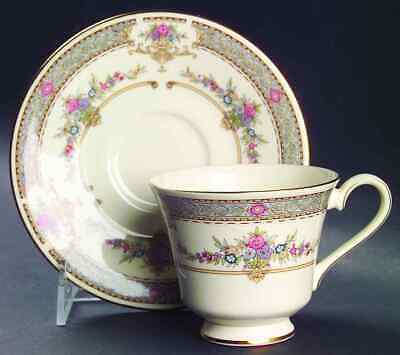 Minton PERSIAN ROSE (CONTEMPORARY) Cup & Saucer 333750