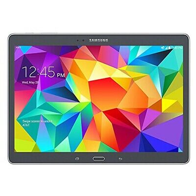 Samsung Galaxy Tab S SM-T807A 16GB 10.5in WiFi 4G LTE GSM AT&T Unlocked - Gray