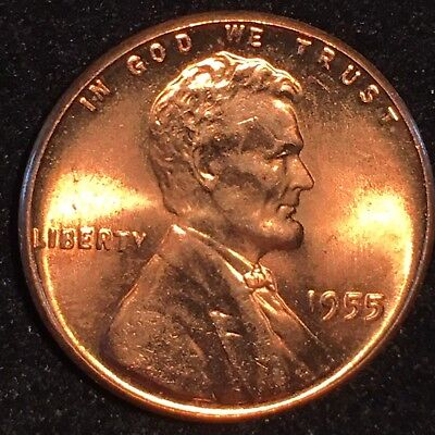 """1955 Double Die Obverse Ddo Lincoln Cent """"Wicked"""" Nice Rare Ms Gem *** Ddo 2 !!!"""