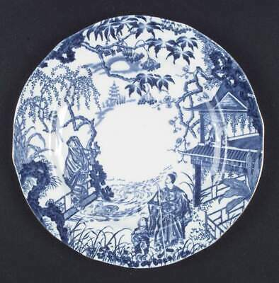 Royal Crown Derby BLUE MIKADO Luncheon Plate S6784566G2