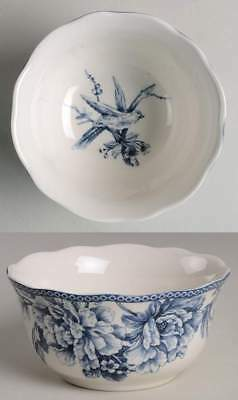 222 Fifth ADELAIDE-BLUE & WHITE Soup Cereal Bowl 8789393
