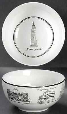 222 Fifth AROUND THE CITY New York Soup Cereal Bowl 8589018