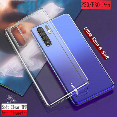 For Huawei P30 Pro P30 Lite Shockproof Slim Clear Soft TPU Silicone Case Cover