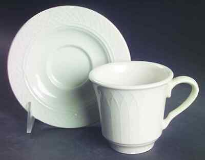 Homer Laughlin GOTHIC Cup & Saucer 222064