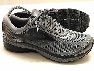 500302784d8 Brooks Ghost 10 DNA Trail Road Running Shoe Grey Blk Mens 8.5 Glycerin  Levitate