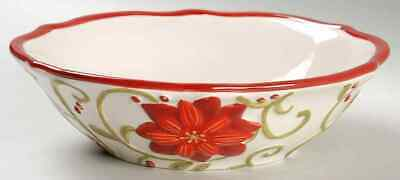 Gibson Designs FESTIVE DELIGHT Soup Cereal Bowl 8924195